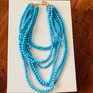 BaubleBar Bold Beaded Strands in Cerulean